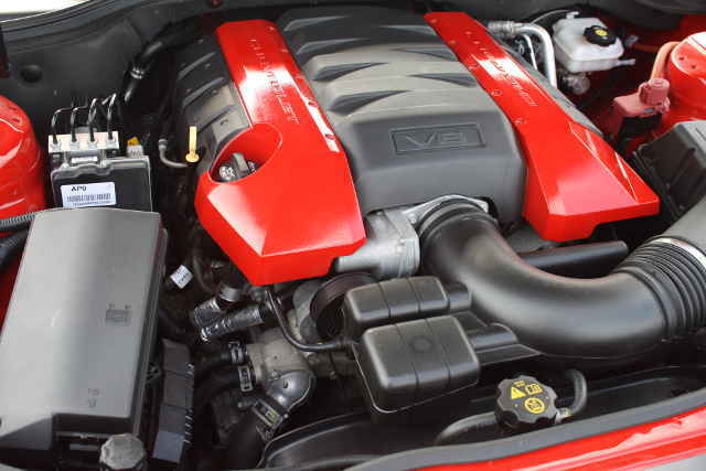 picture of Camaro engine