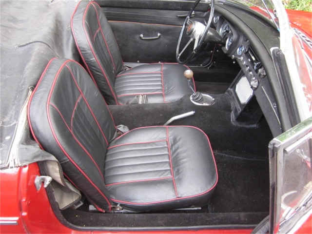 picture of MGB interior