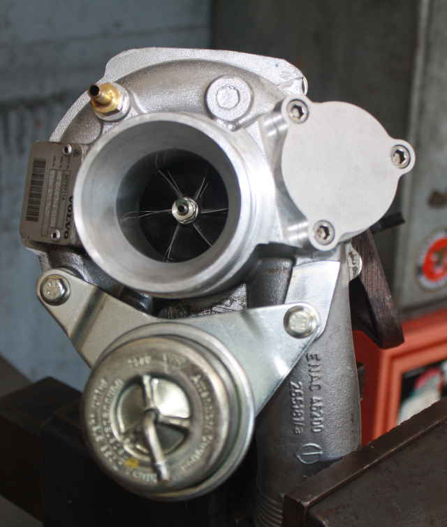 picture of volvo turbo